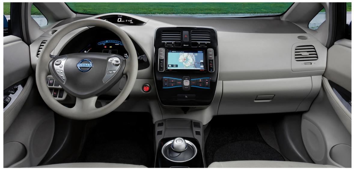 Cuadro de mandos Nissan Leaf